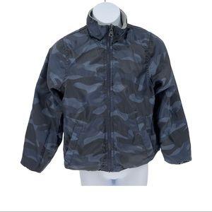 Oshkosh B'Gosh Reversible Fleece Camo Jacket Sz 8
